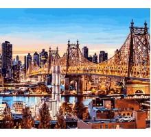 Картина по номерам Вечер в Нью-Йорке