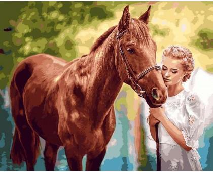 Картина по номерам Красота и нежность
