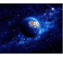 Картина по номерам Земля из космоса