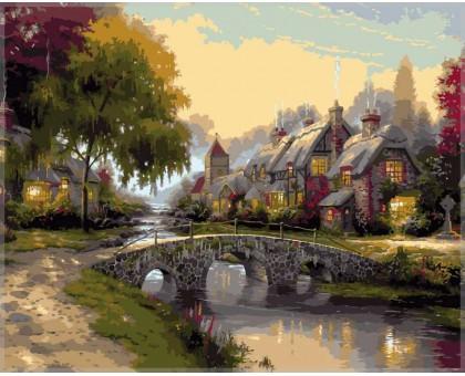 Картина по номерам Каменный мост
