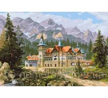 Картина по номерам Замок Спящей красавицы