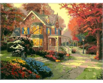 Картина по номерам Осенние краски