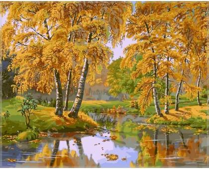 Картина по номерам Осенний день