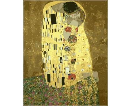 Картина по номерам Золотой поцелуй