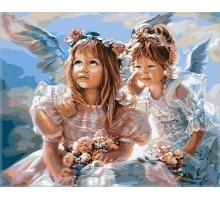 Картина по номерам Ангелочки