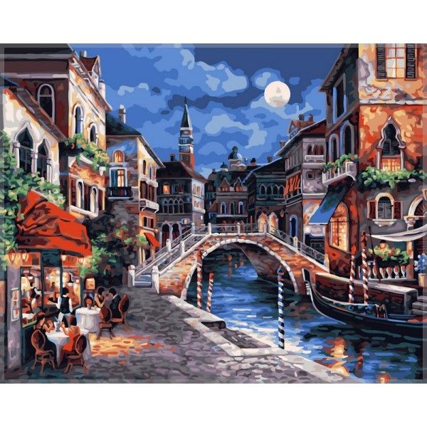 Картина по номерам Венецианская ночь
