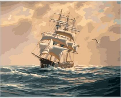 Картина по номерам С ветром споря