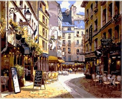 Картина по номерам Рестораны Парижа