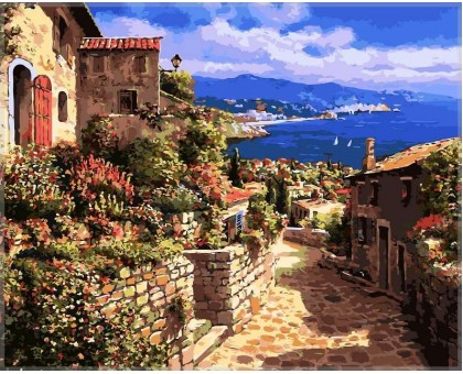 Картина по номерам Тосса дель Мар, Испания