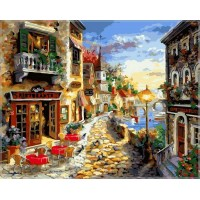 Картина по номерам Приморский бульвар