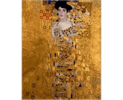 Картина по номерам Золотая Адель