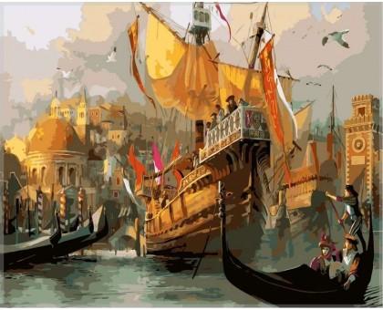 Картина по номерам Венеция. Время маскарада