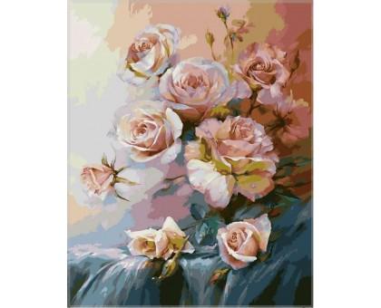 Картина по номерам Розовое утро