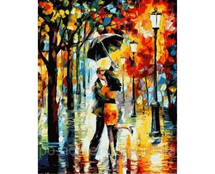 Картина по номерам Танец под дождем