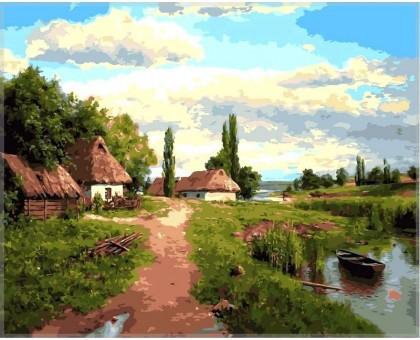 Картина по номерам Окраина