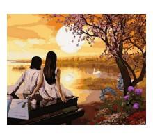 Картина по номерам Закат в раю
