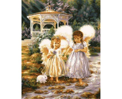 Картина по номерам Маленькие ангелы