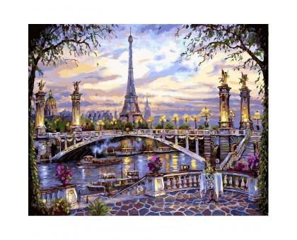 Картина по номерам Воспоминания о Париже