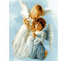 Картина по номерам Ангельские дети