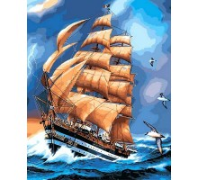 Картина по номерам Парусник Америго Веспучи