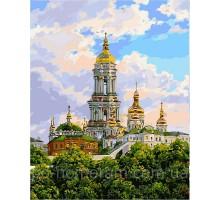 Картина по номерам Киев. Печерская лавра.