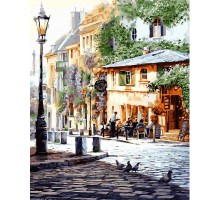 Картина по номерам Италия. Летнее кафе