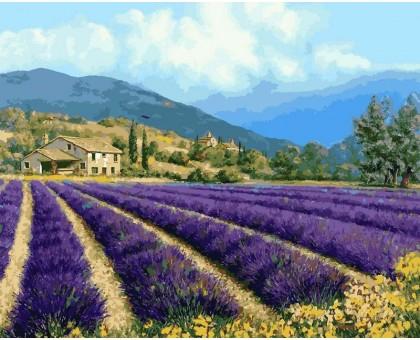 Картина по номерам Прованский пейзаж