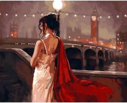 Картина по номерам Винтажный Лондон