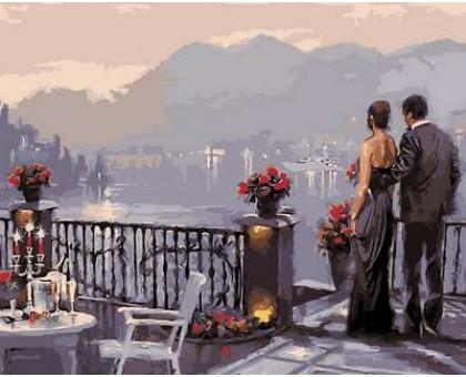 Картина по номерам Романтический ужин