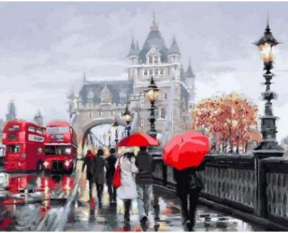 Картина по номерам Осень в Лондоне