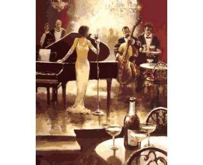 Картина по номерам Ночь джаза