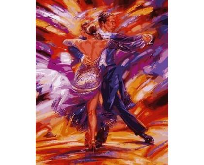 Картина по номерам Зажигательное танго