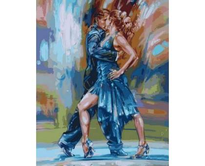 Картина по номерам Страстное танго
