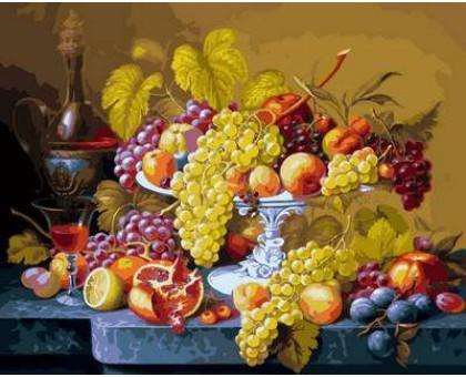 Картина по номерам Роскошный виноград