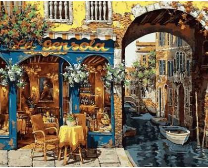 Картина по номерам Кафе Венеции