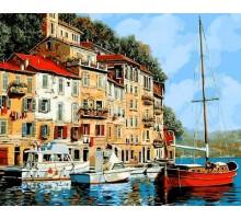 Картина по номерам Средиземноморье