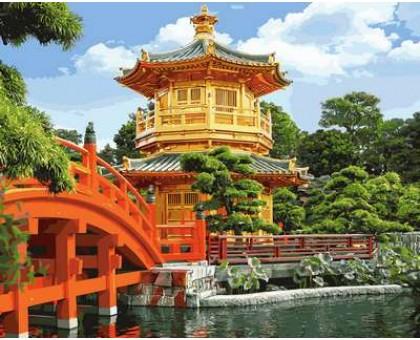 Картина по номерам Японская пагода