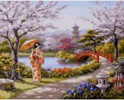 Картина по номерам Нарисованный рай