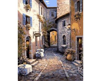 Картина по номерам Итальянский дворик
