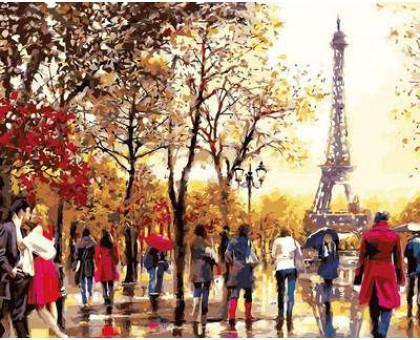 Картина по номерам Любимый Париж