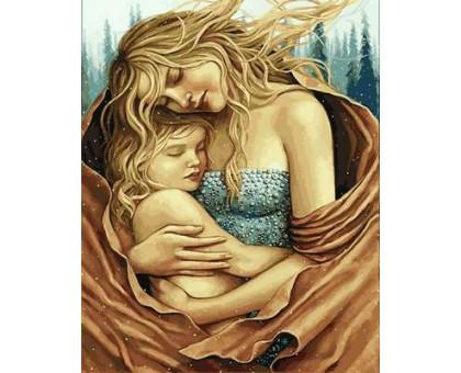 Картина по номерам Мать и дитя