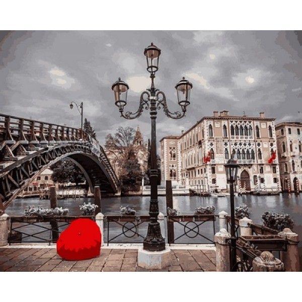 Картина по номерам Магия Парижа