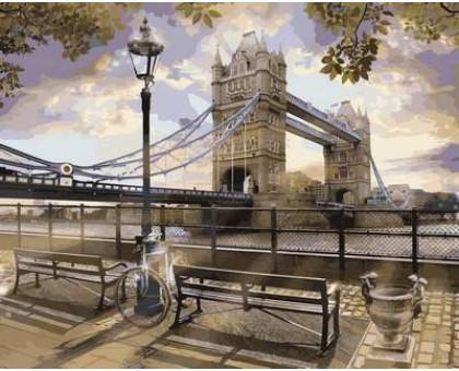 Картина по номерам Утро у Тауэрского моста
