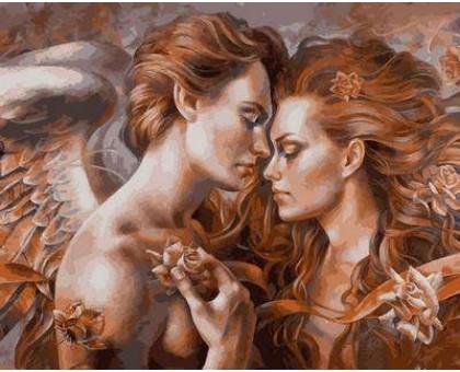 Картина по номерам Прикосновение ангела