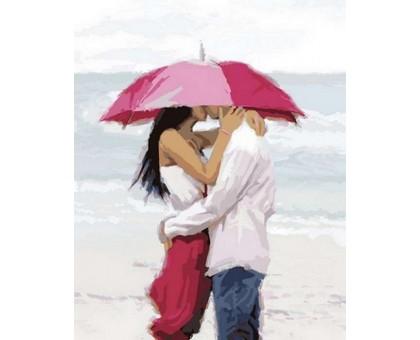 Картина по номерам Поцелуй на берегу океана