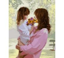 Картина по номерам Букет для мамы