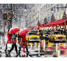 Картина по номерам Зима в Нью-Йорке