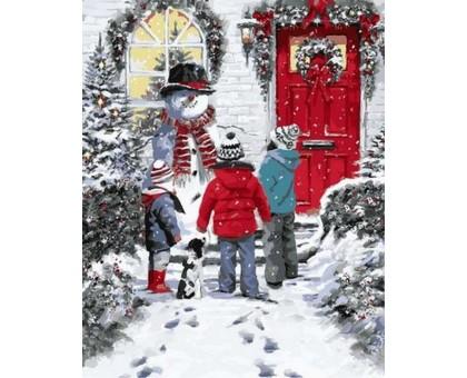 Картина по номерам Рождественская сказка