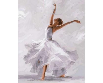 Картина по номерам Белый танец
