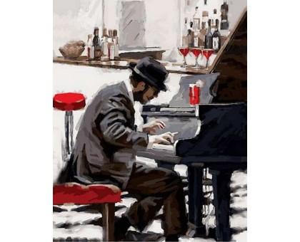Картина по номерам Блюз зимнего вечера